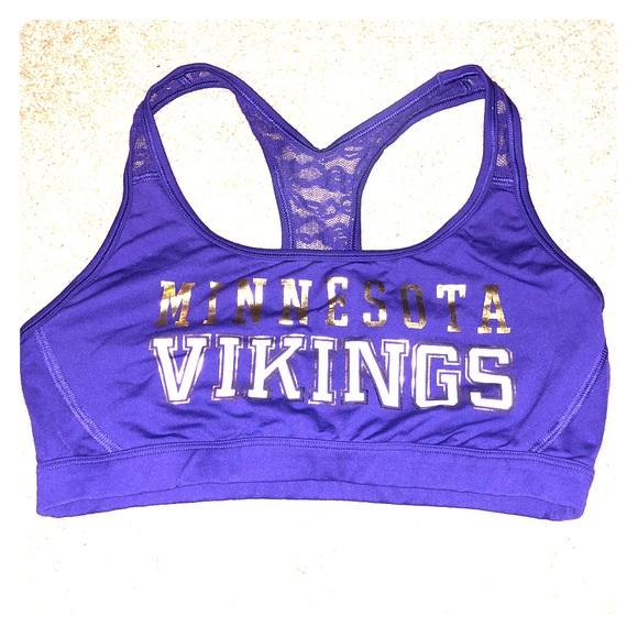 Minnesota Vikings sports bra. M 5a4e59a45512fddca300d15d cbfab9eed